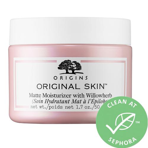 Moisturizers for winter skin include ORIGINS Original Skin™ Matte Moisturizer with Willowherb