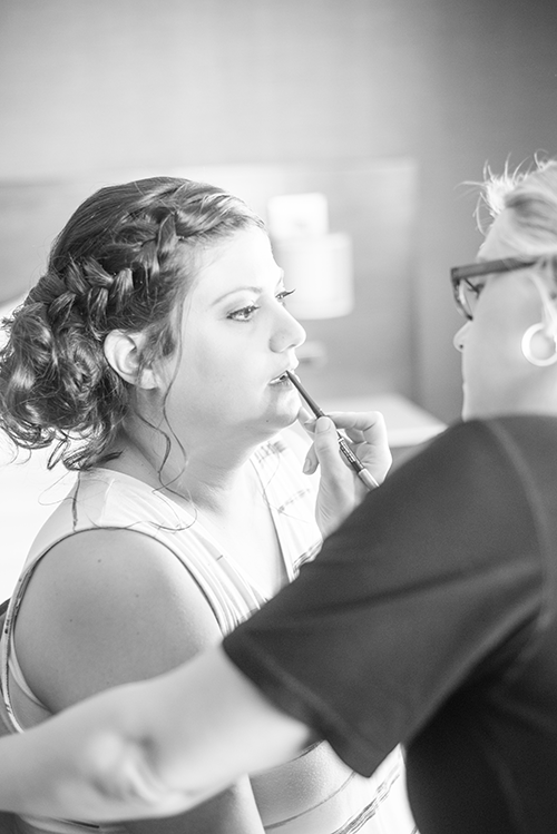 take forty five - airbrush makeup artist - photo by Coast and Copper Photography