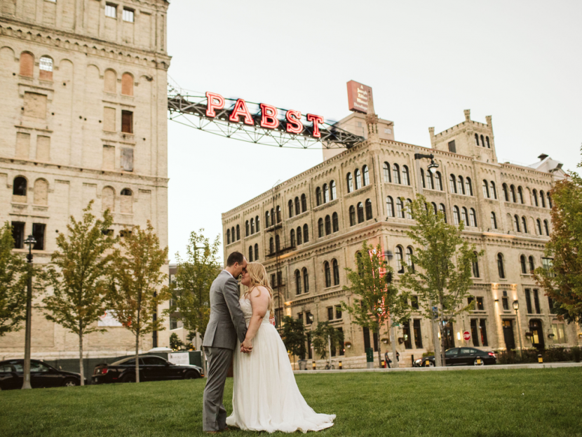 Best Place at the Historic Pabst Brewery | Milwaukee Wedding
