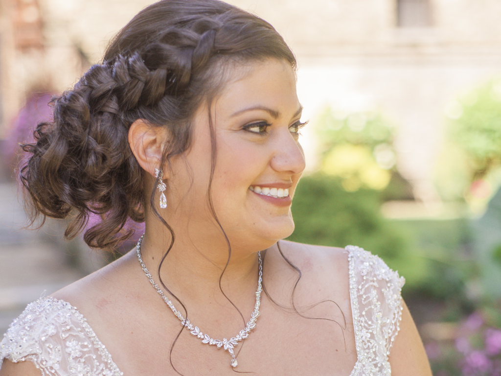 take forty five - airbrush makeup artist - The DeKoven Center wedding - photo by Coast and Copper Photography
